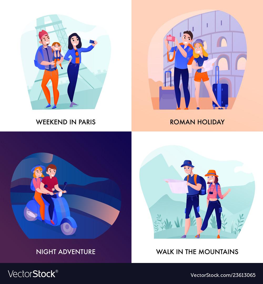 Travelers design concept