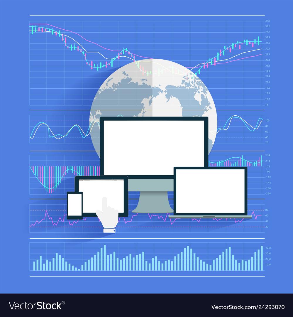 Innovation technology business creative stock