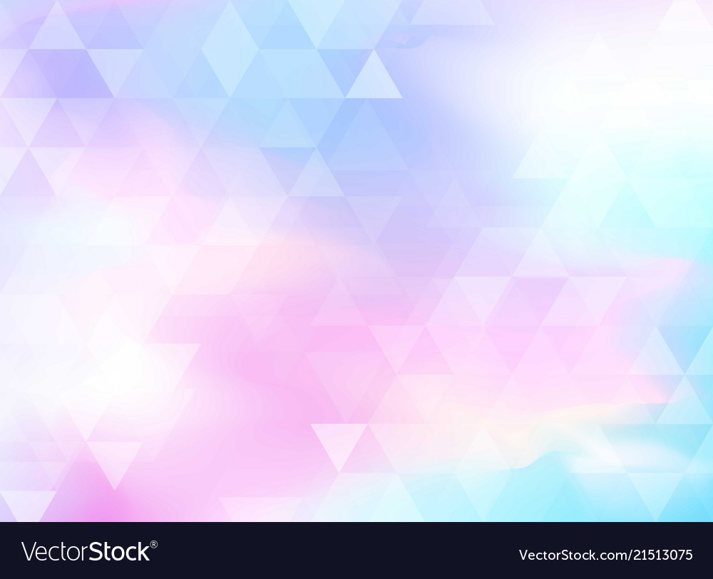 Abstract colorful triangles pattern on