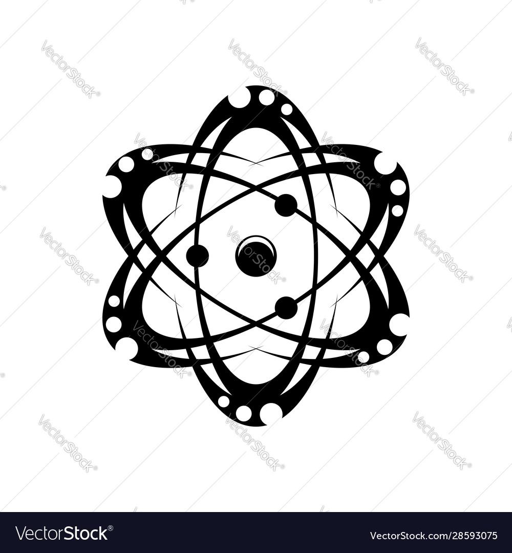 Circulating particles monochrome atoms molecules