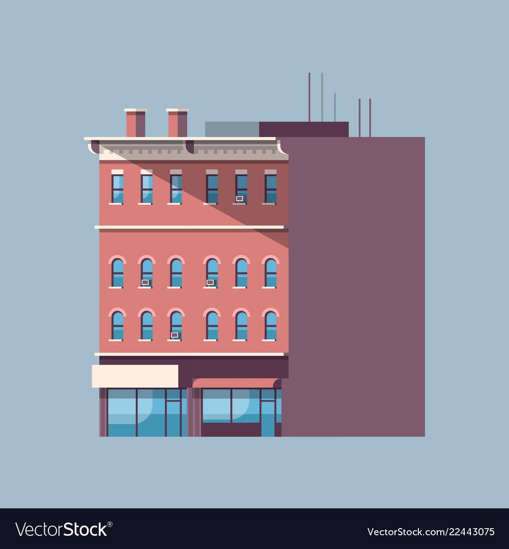 City building house urban real estate concept