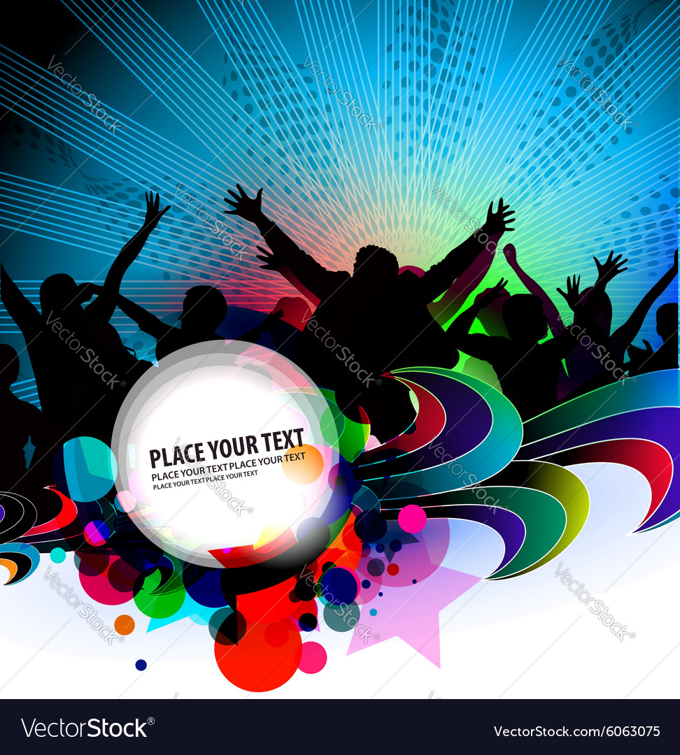 Party Banner Background Royalty Free Vector Image