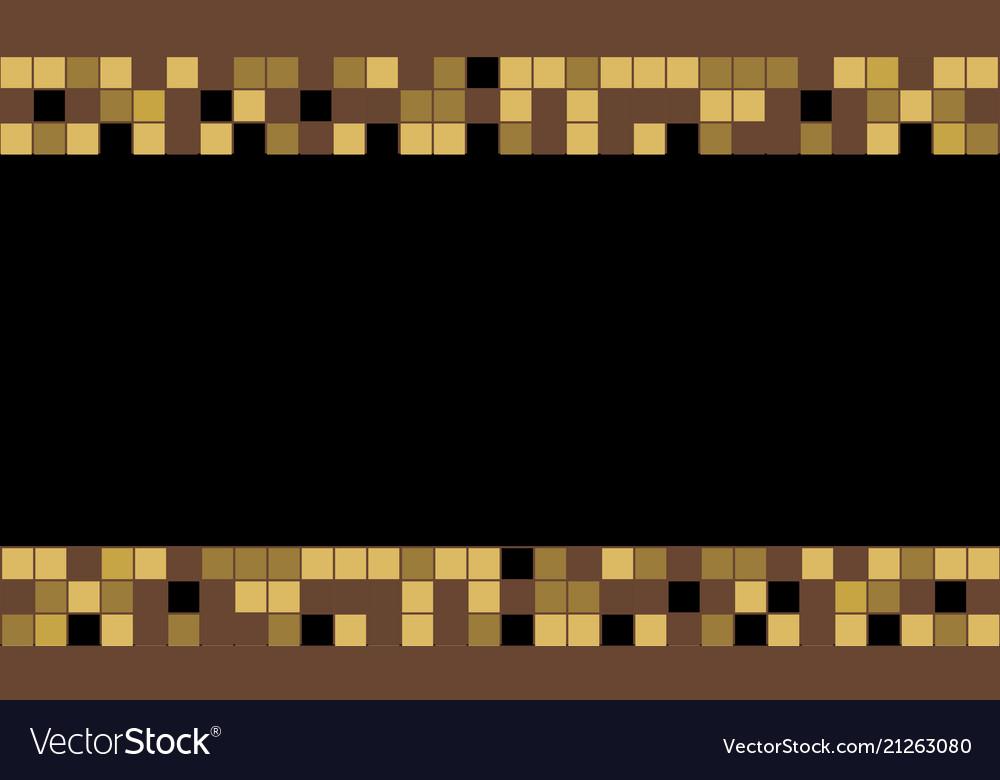 Graphic square color