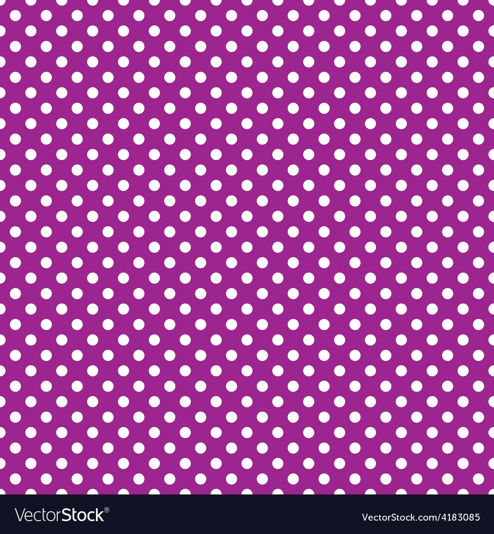 Seamless purple polka dot