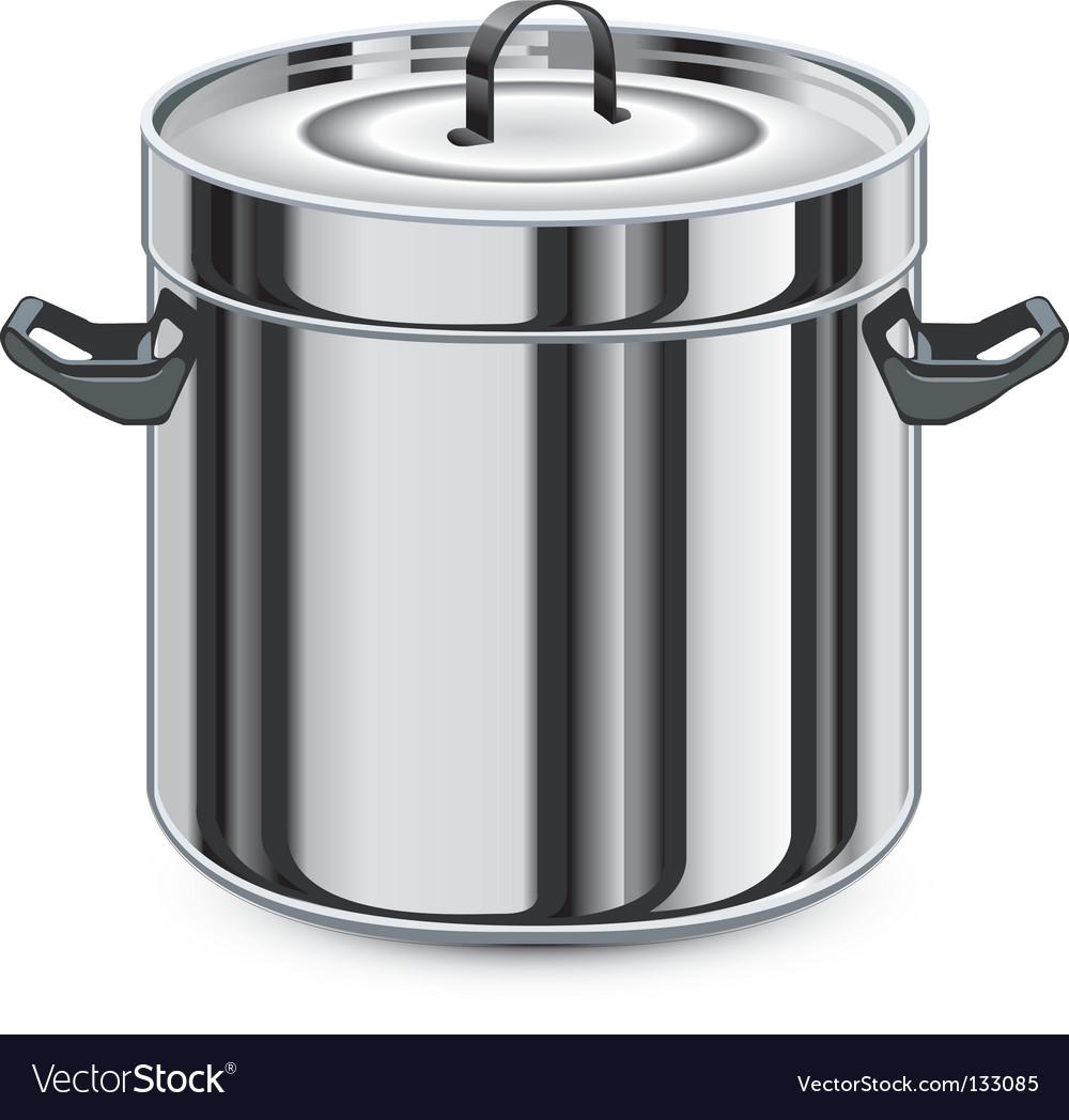 Silver pan