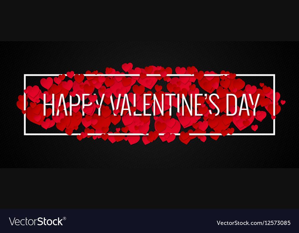 Valentines Day Banner Design Background