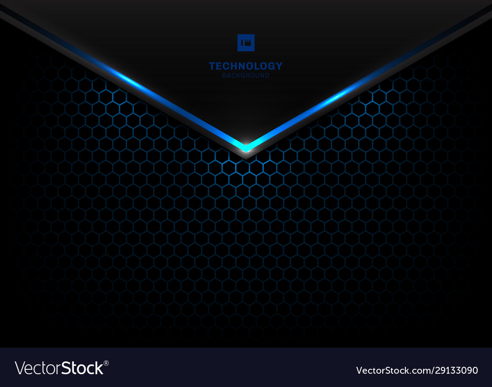 Abstract technology futuristic concept black and