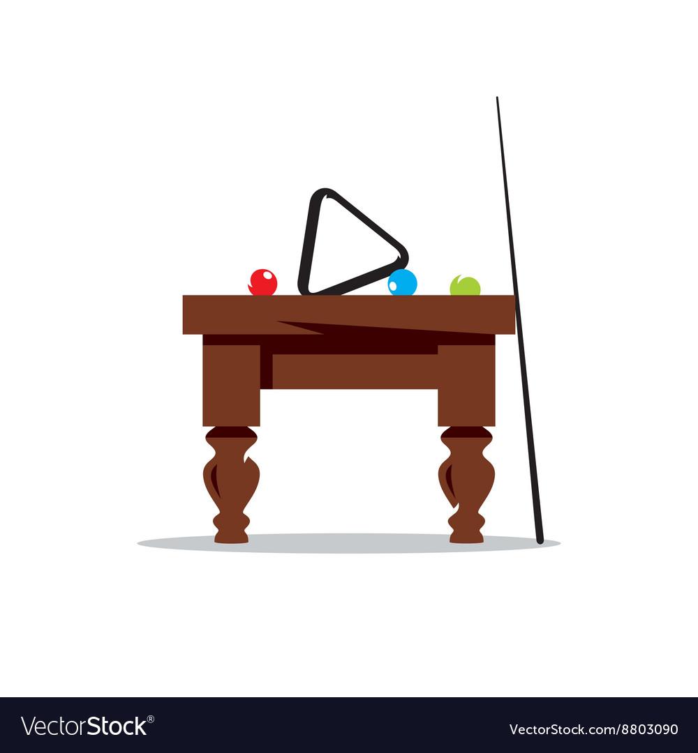 Billiard Table Cartoon