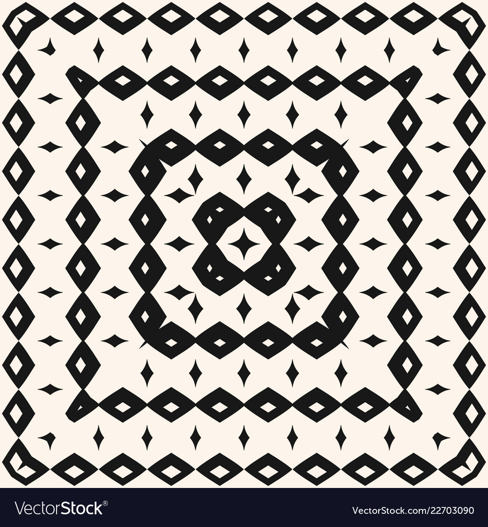 Ethnic tribal geometric seamless pattern with