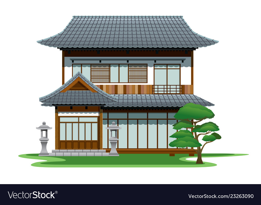 An House Royalty Free Vector Image