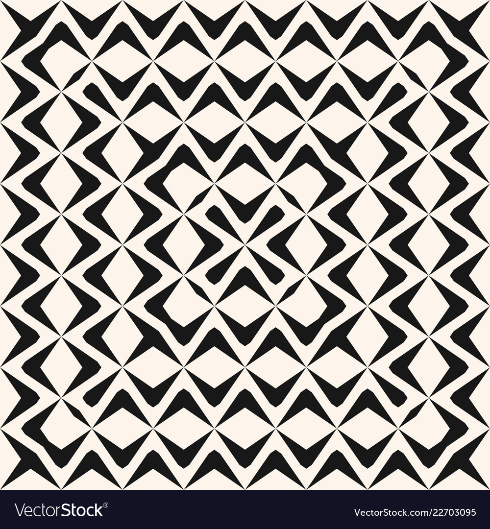 Monochrome seamless pattern with concentric wavy