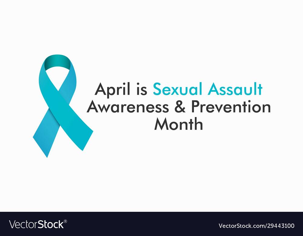 Sexual assault awareness month