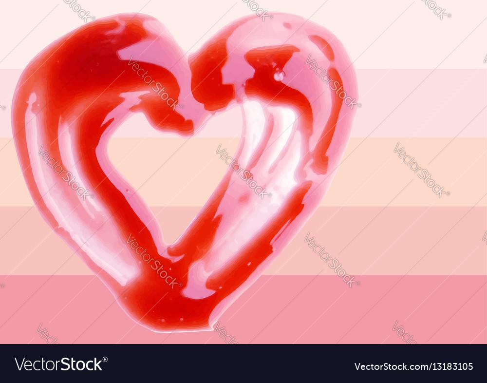 Lip Gloss heart shaped