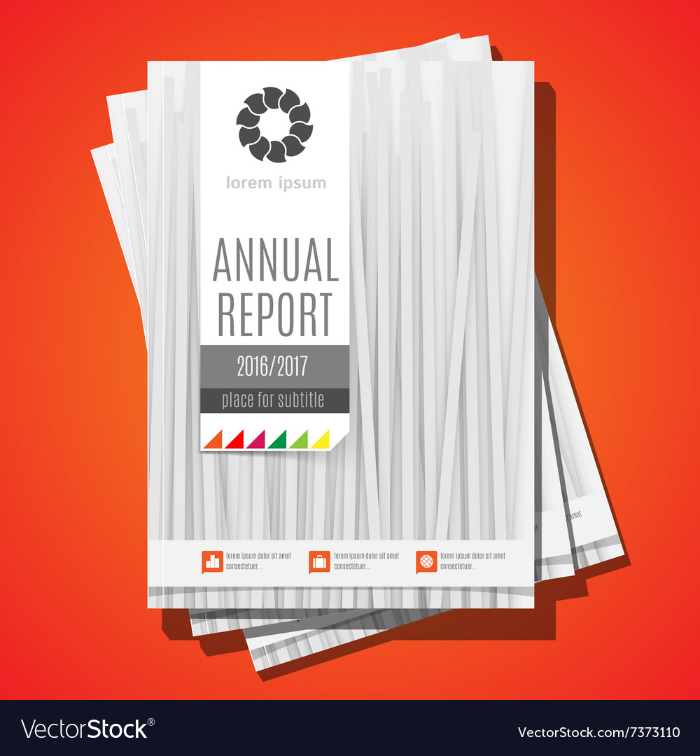 Modern Brochure Annual report Design Template