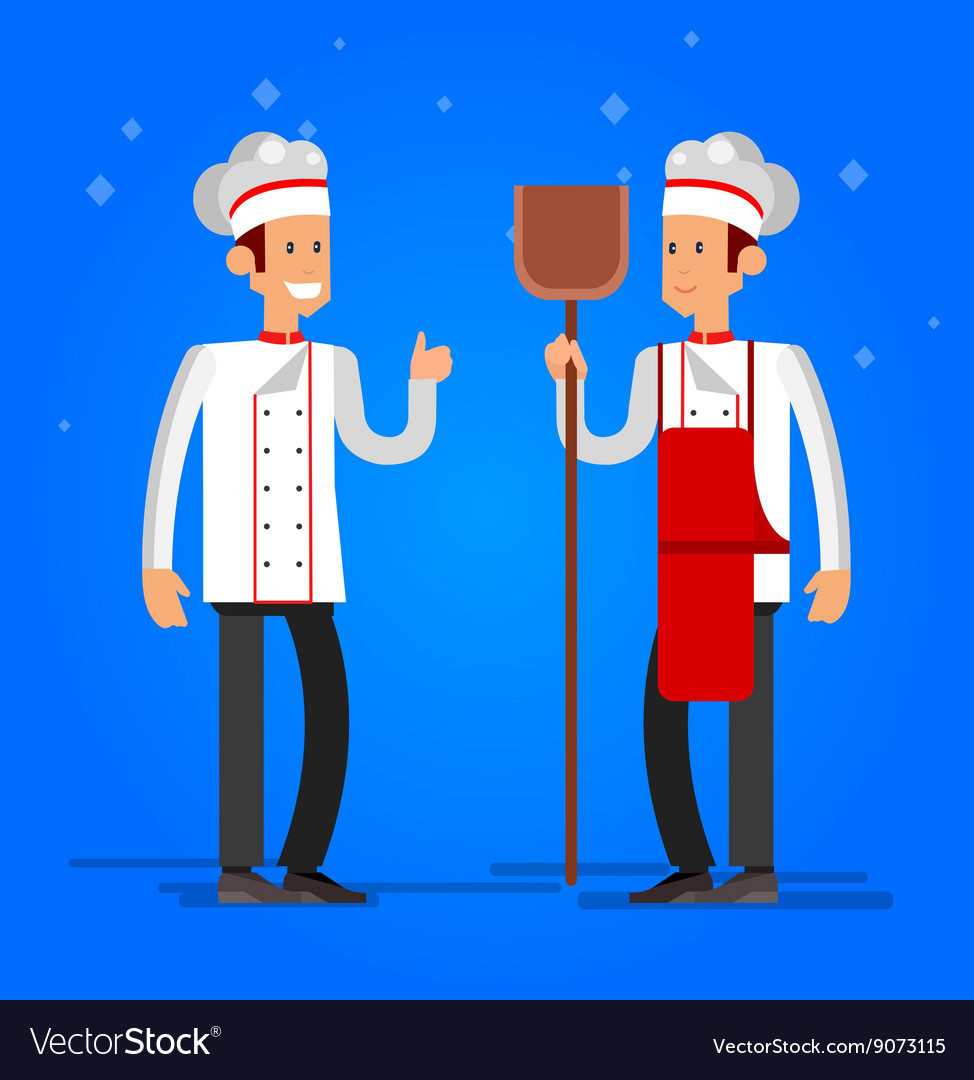 Cook baker cooking bread icon bakery background