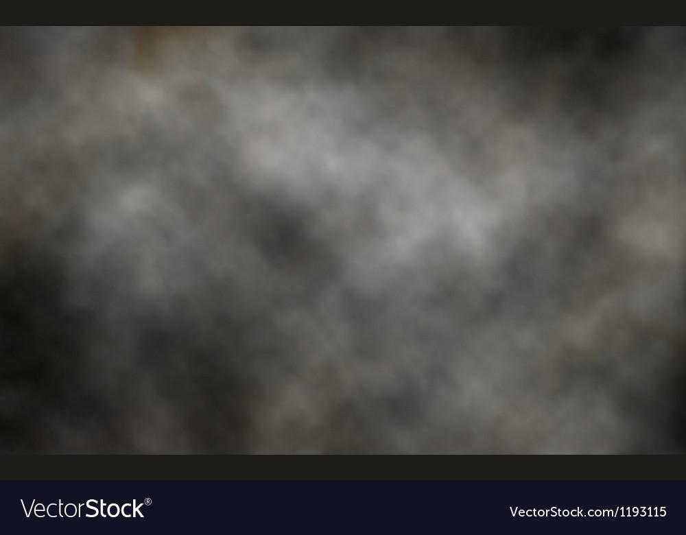 Dark smoke background vector image
