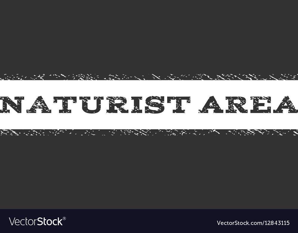 Naturist Area Watermark Stamp