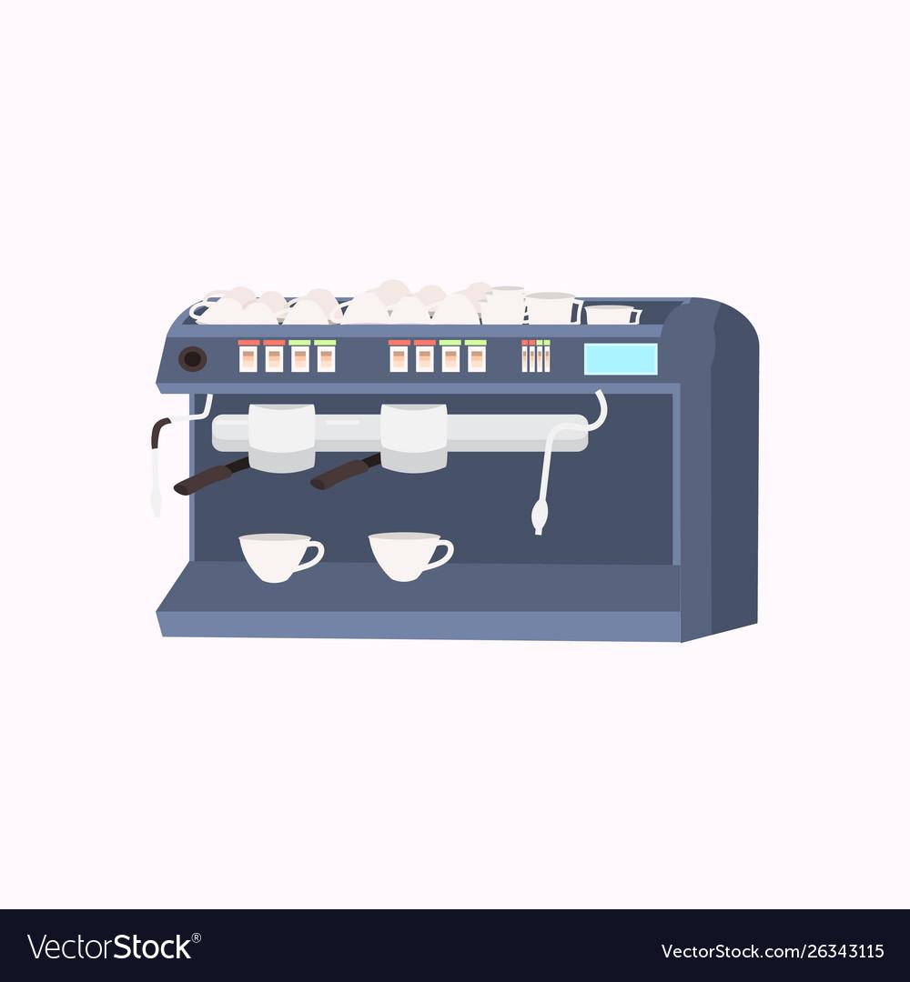 Professional metal electric coffee machine modern