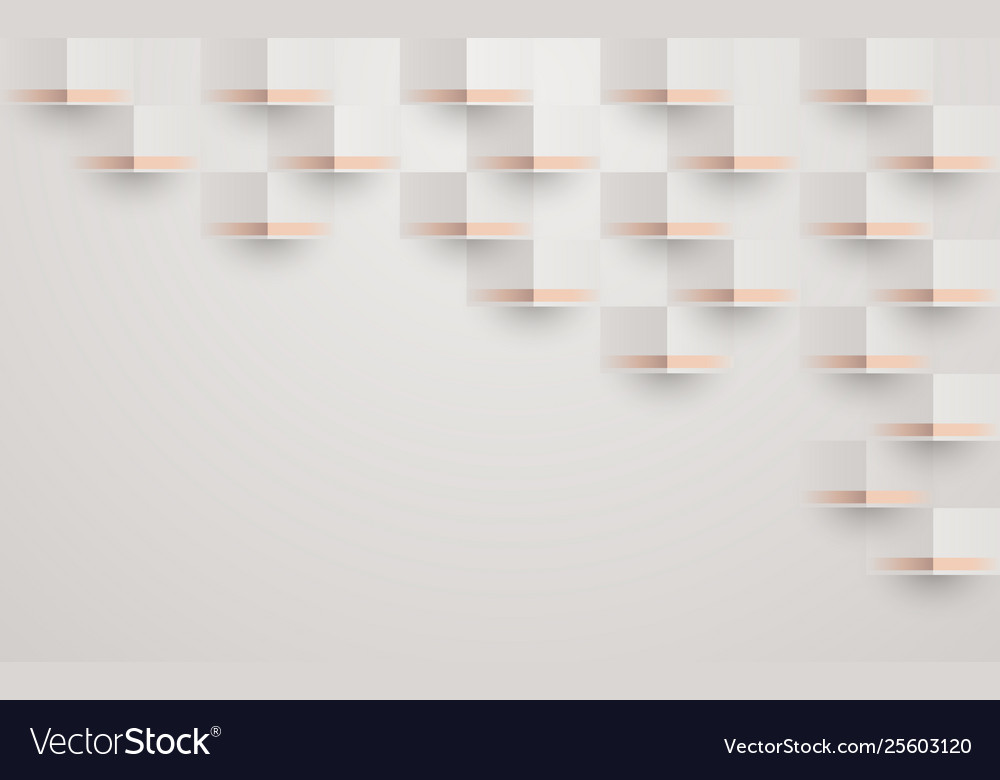 Abstract 3d geometric pattern luxury background
