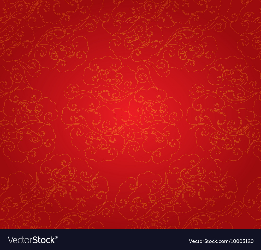 oriental chinese new year pattern background vector image