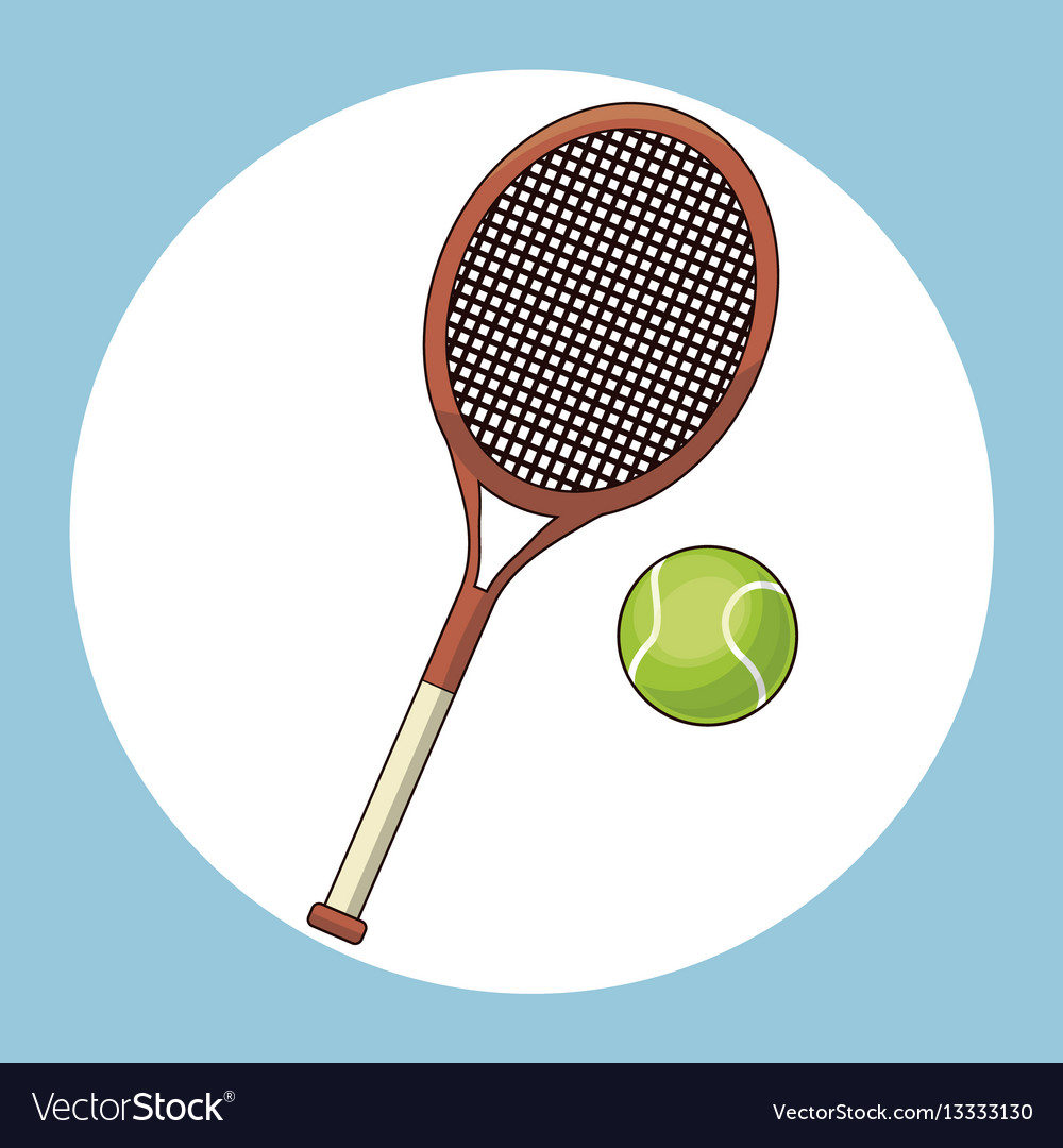 Ball and racket tennis