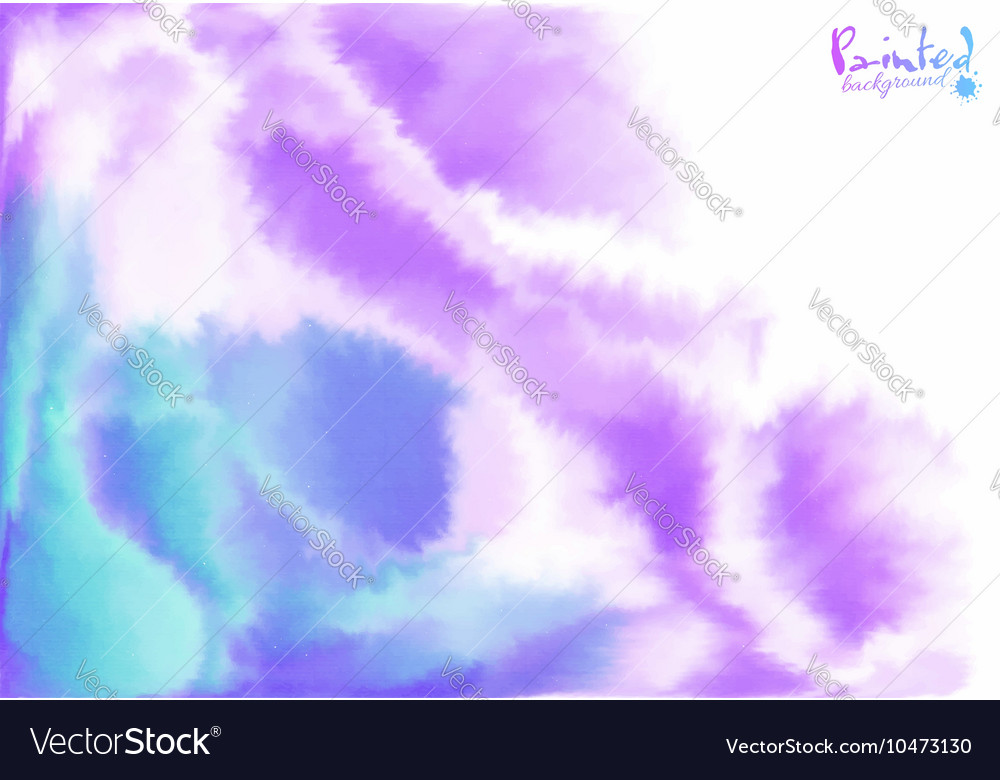 Purple and blue background in watercolor style