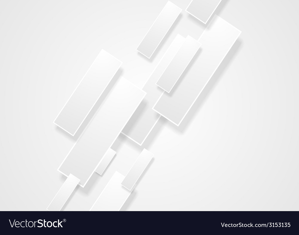 Abstract tech corporate background vector image