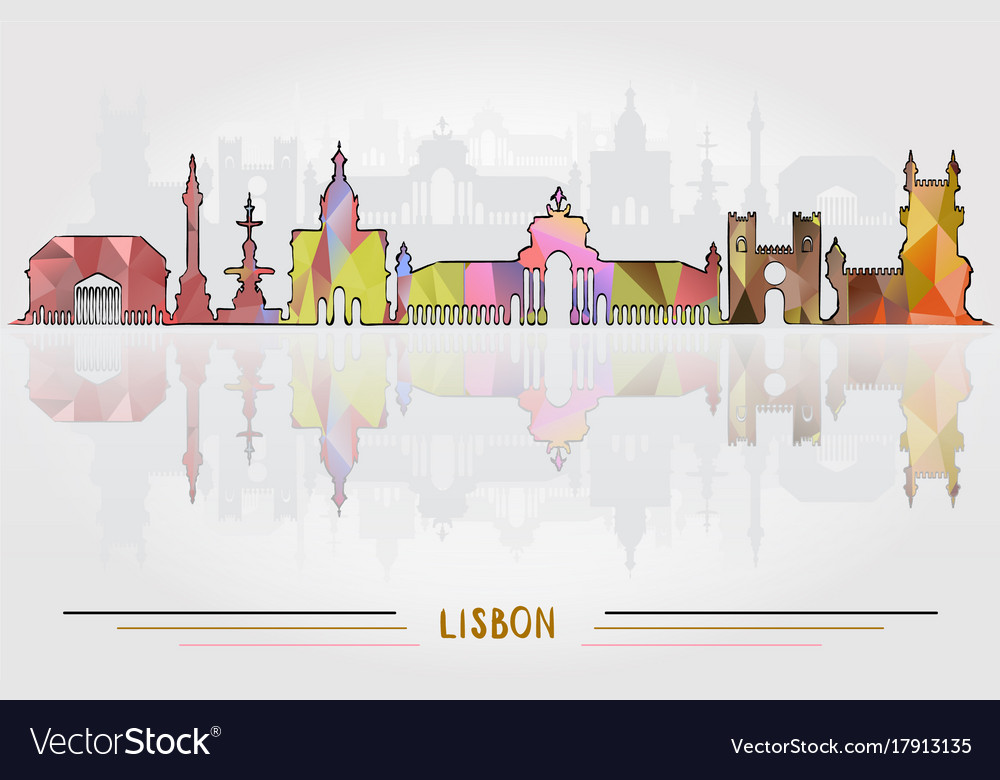 Lisbon city background