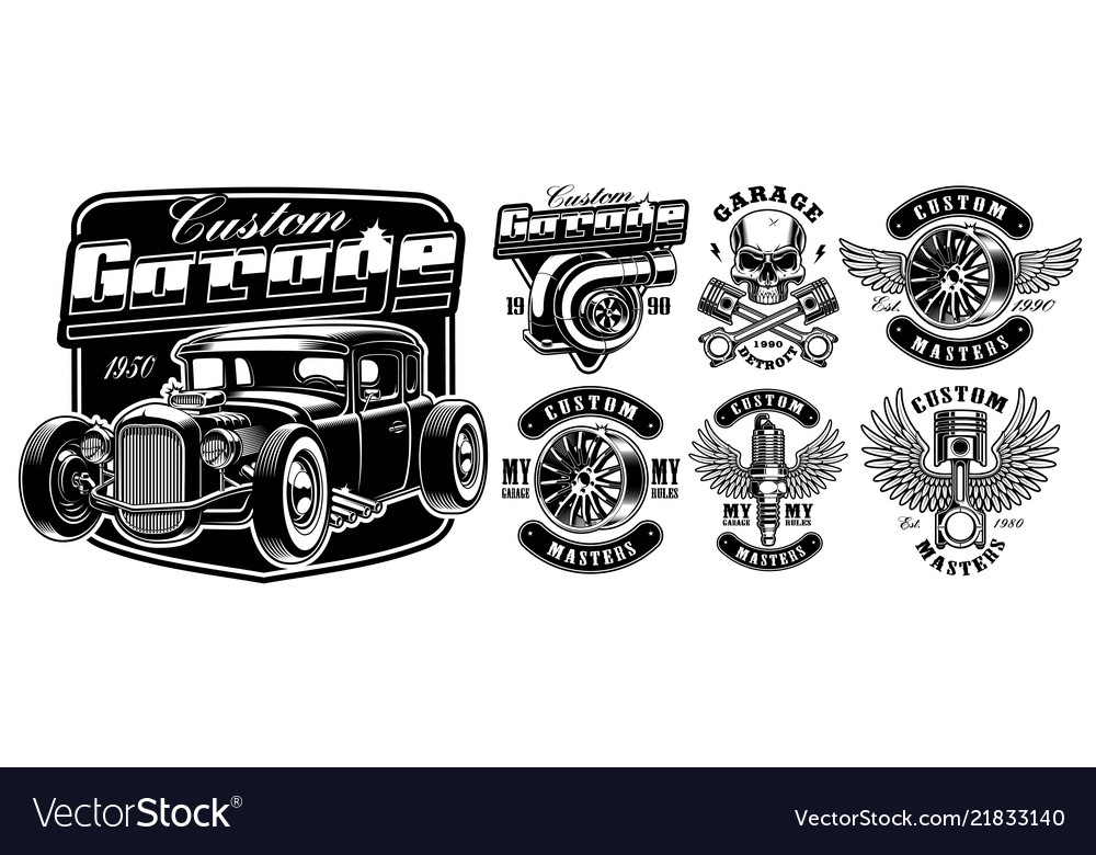 Car service badges