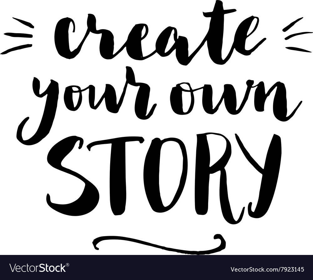 Create your own story print