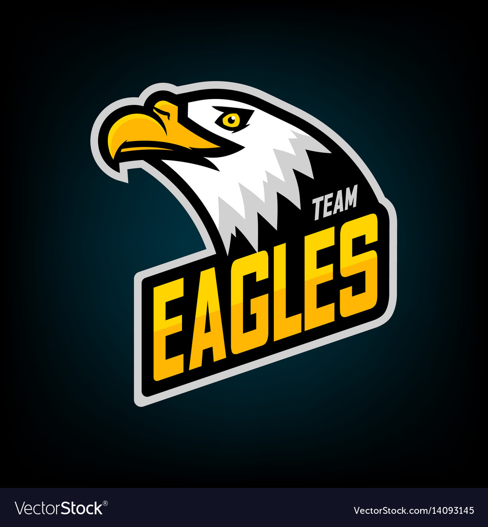 Eagle logo for sport team