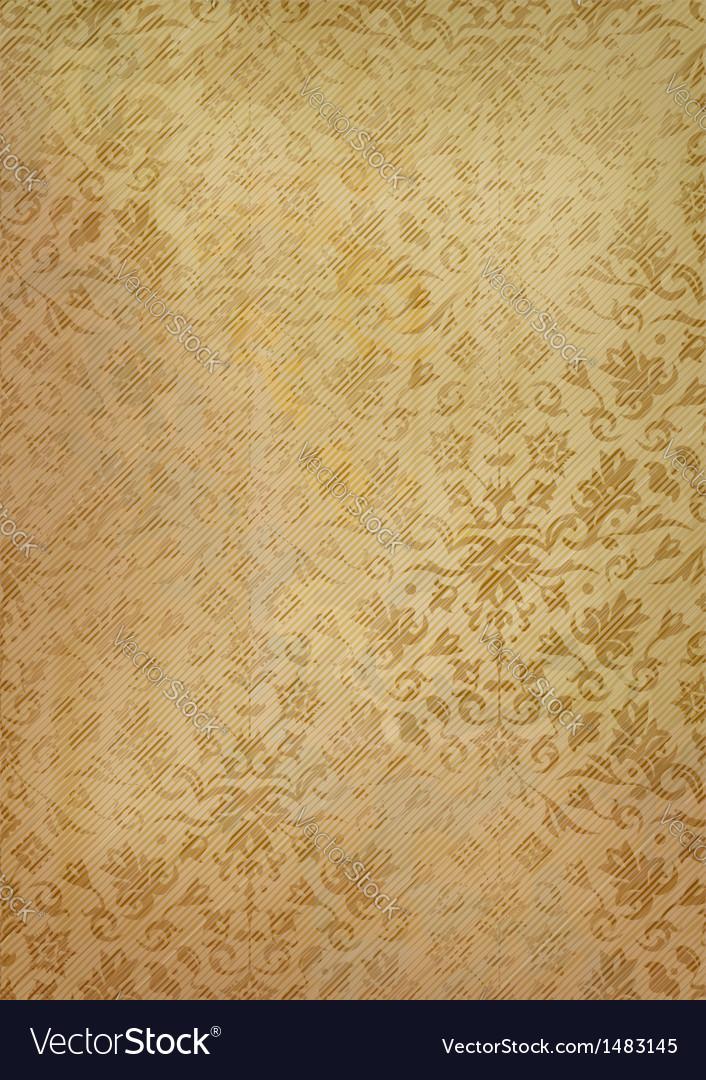 Vintage grunge old paper background with pattern