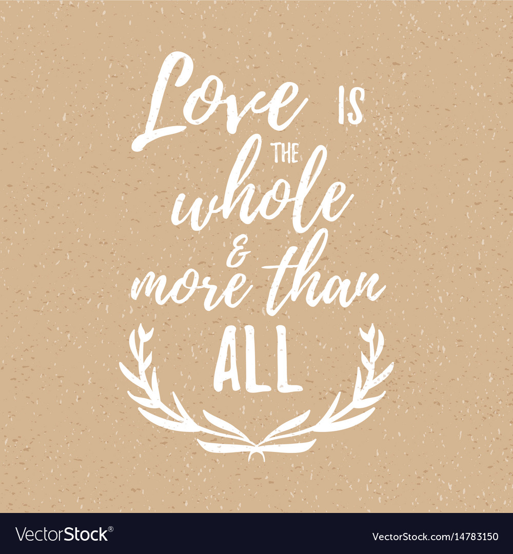 Inspirational quote about love and romance