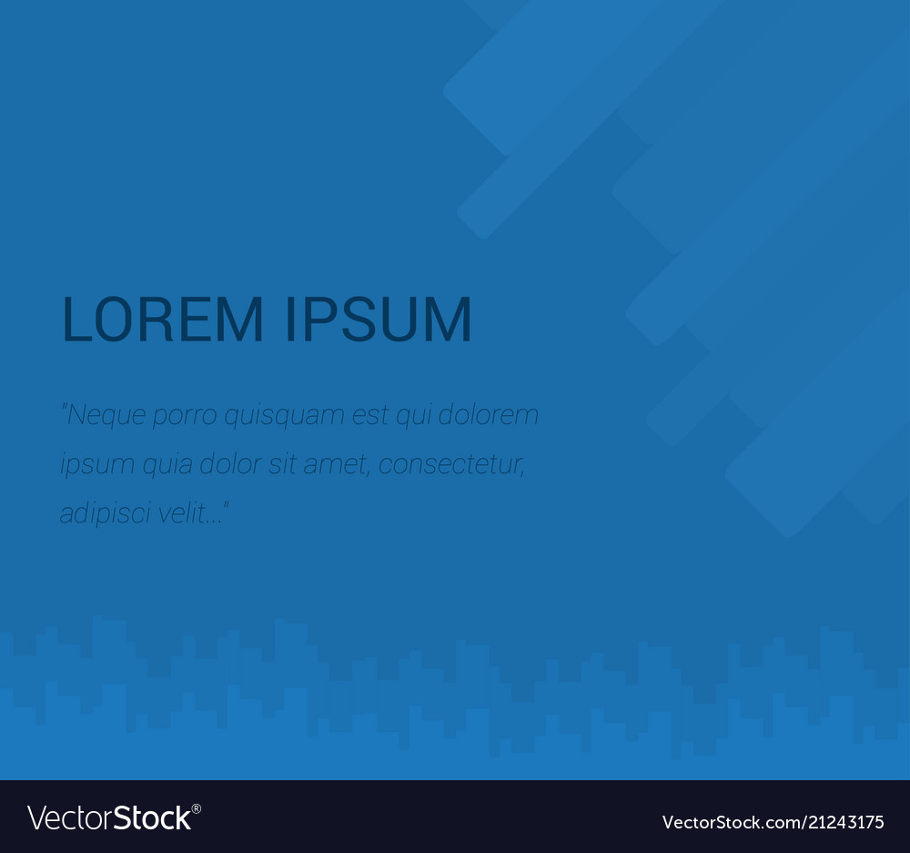 Background for presentation abstraction in blue vector image