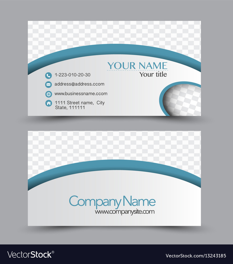 Business card design set template royalty free vector image business card design set template vector image reheart Images