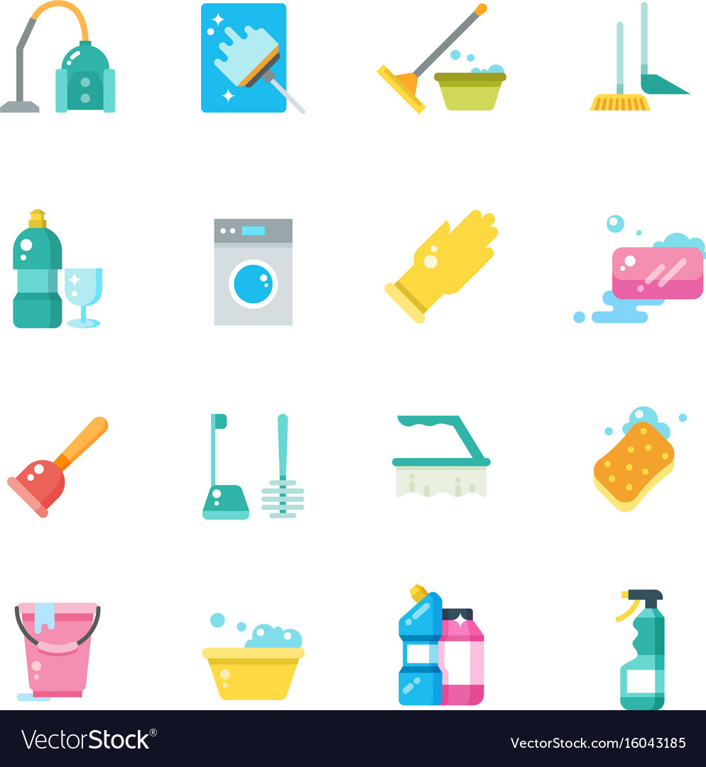 Cleaning home services and household tools
