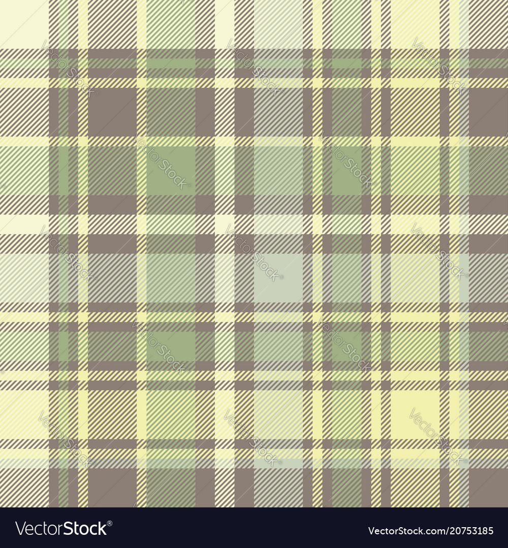 Tartan plaid fabric texture seamless pattern vector image