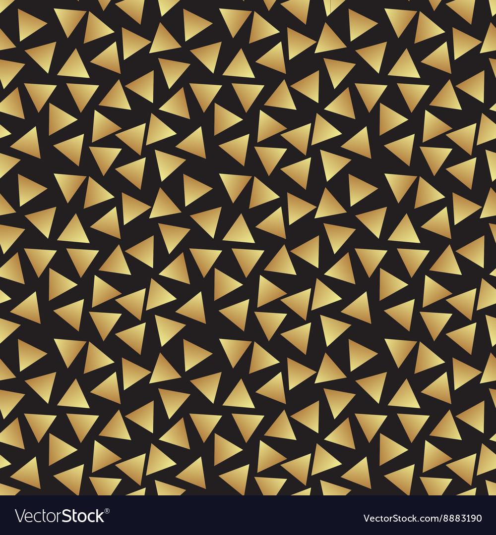 Seamless vintage abstract pattern with triangles