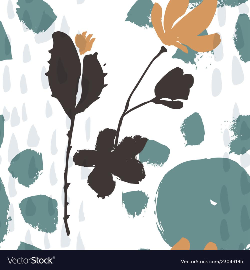 Abstract natural seamless pattern