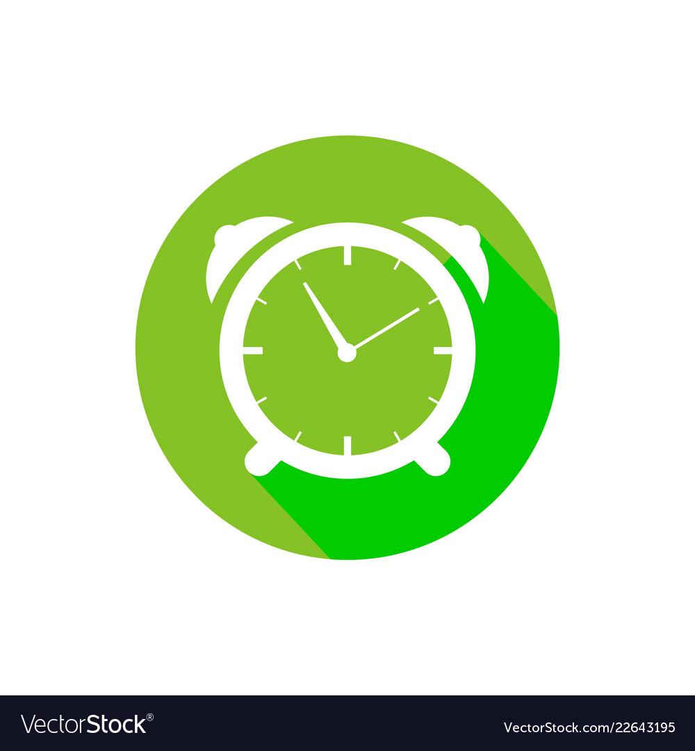 Clock logo design