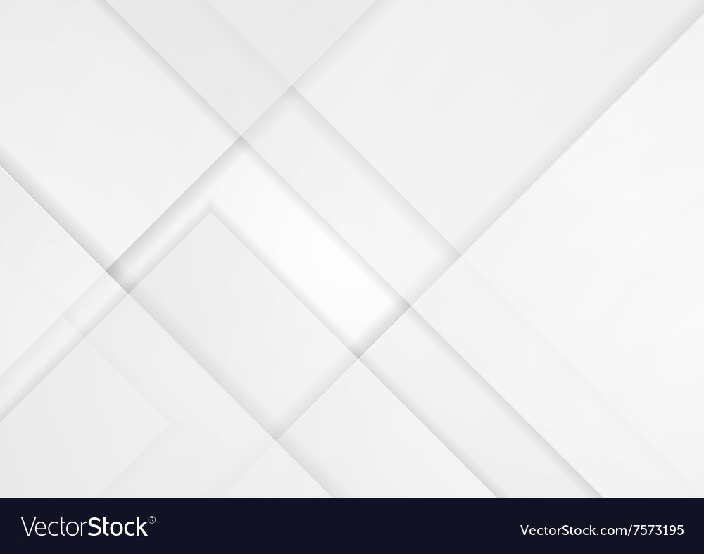 Light grey tech material background vector image
