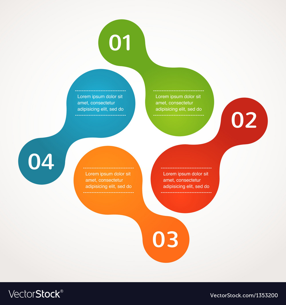 Abstract design and infographics background icon