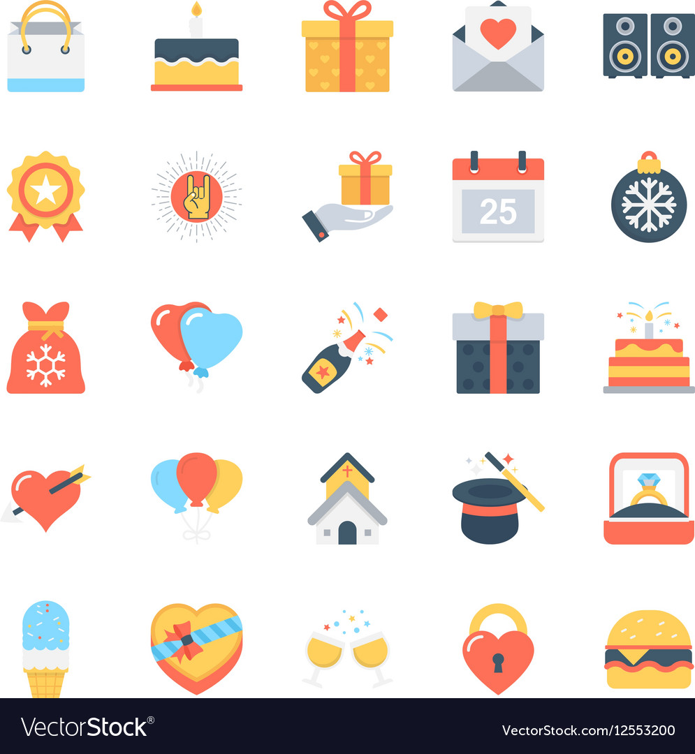 Party and Celebration Icons 4