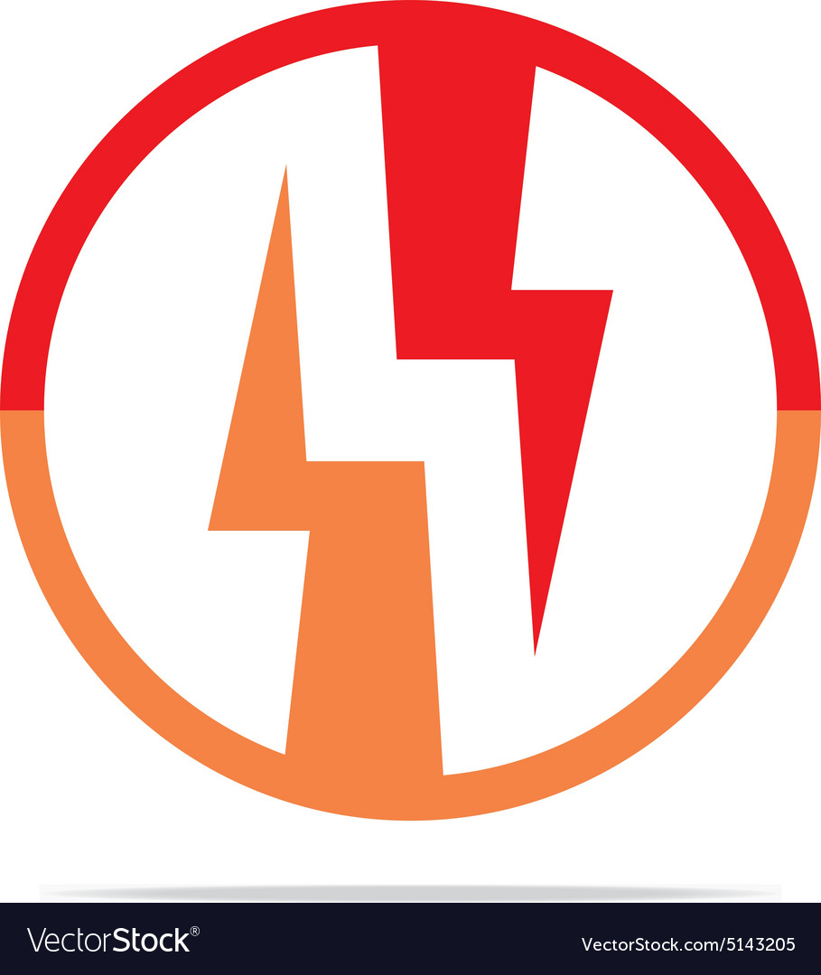Logo Electricity Power Icon Design Symbol Abstract