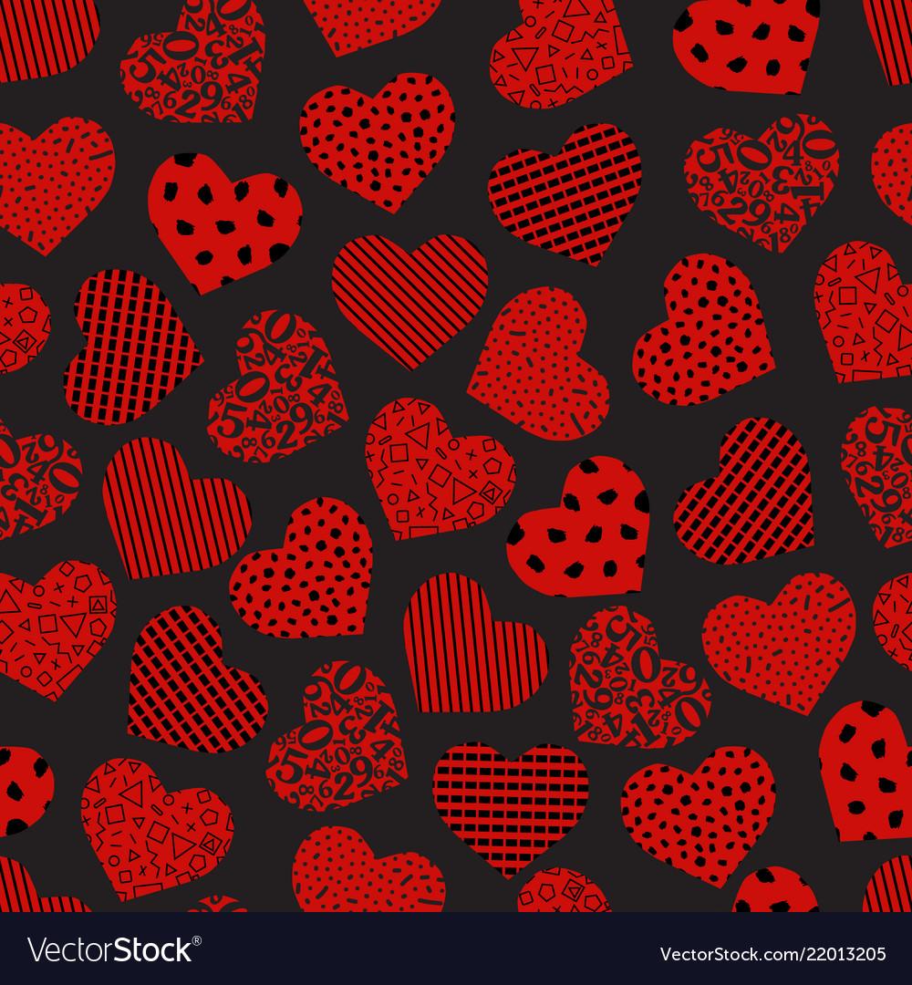 Seamless geometric heart