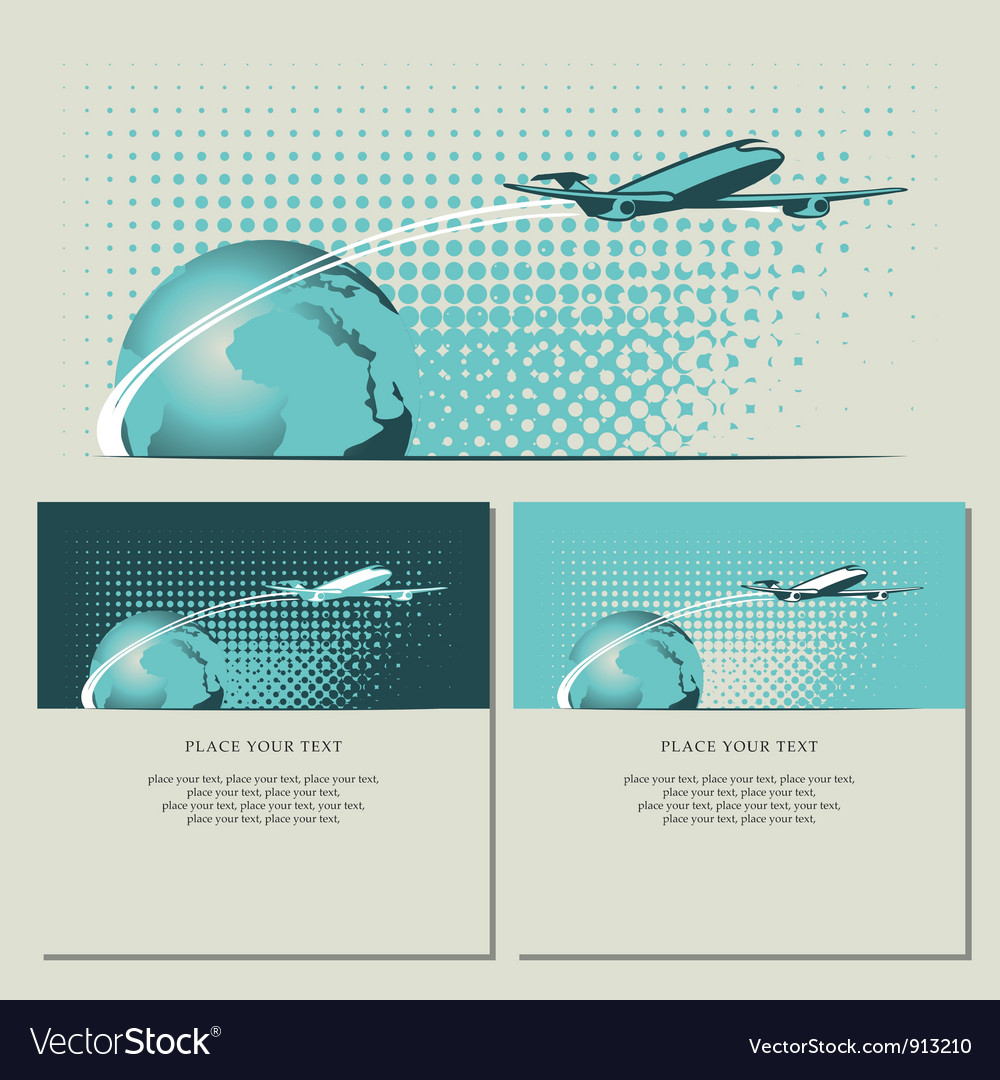 Air banner vector image