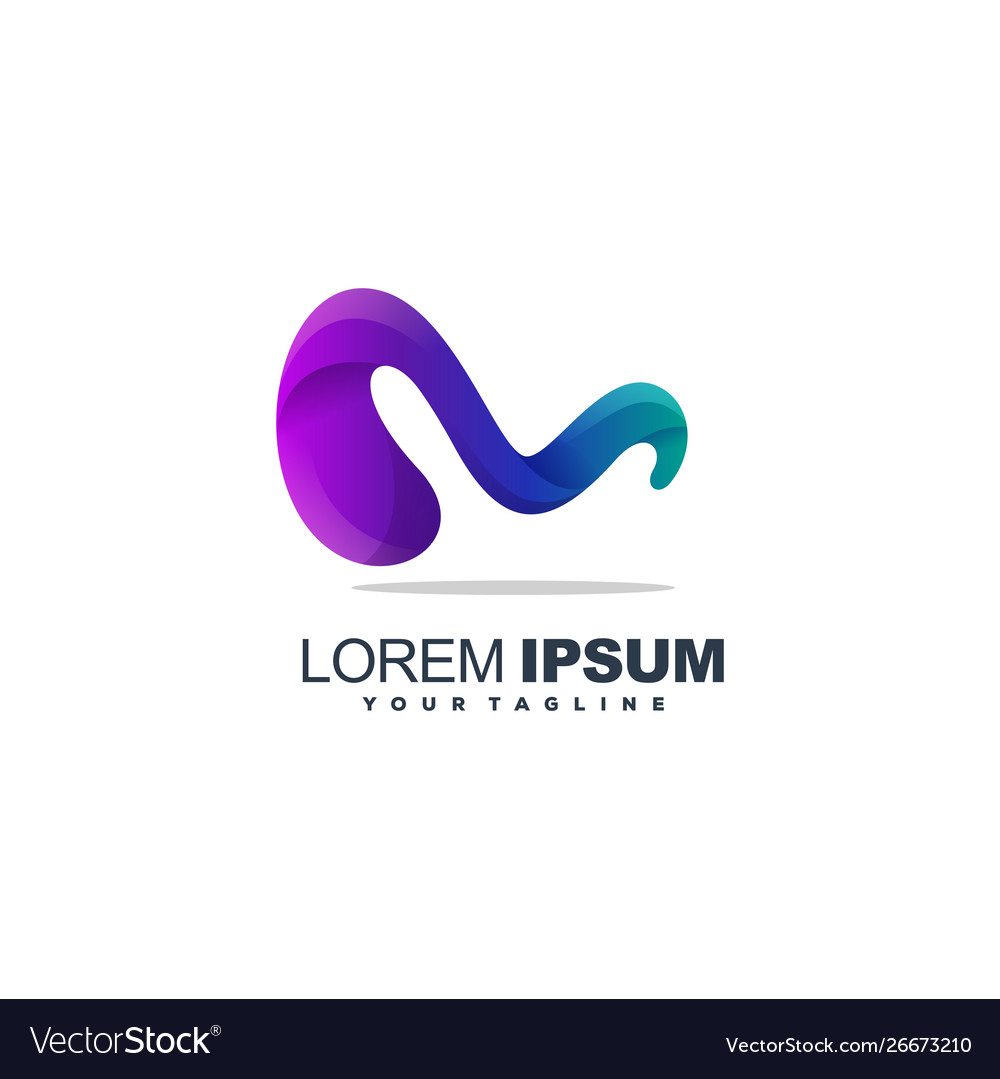 Awesome letter m logo design