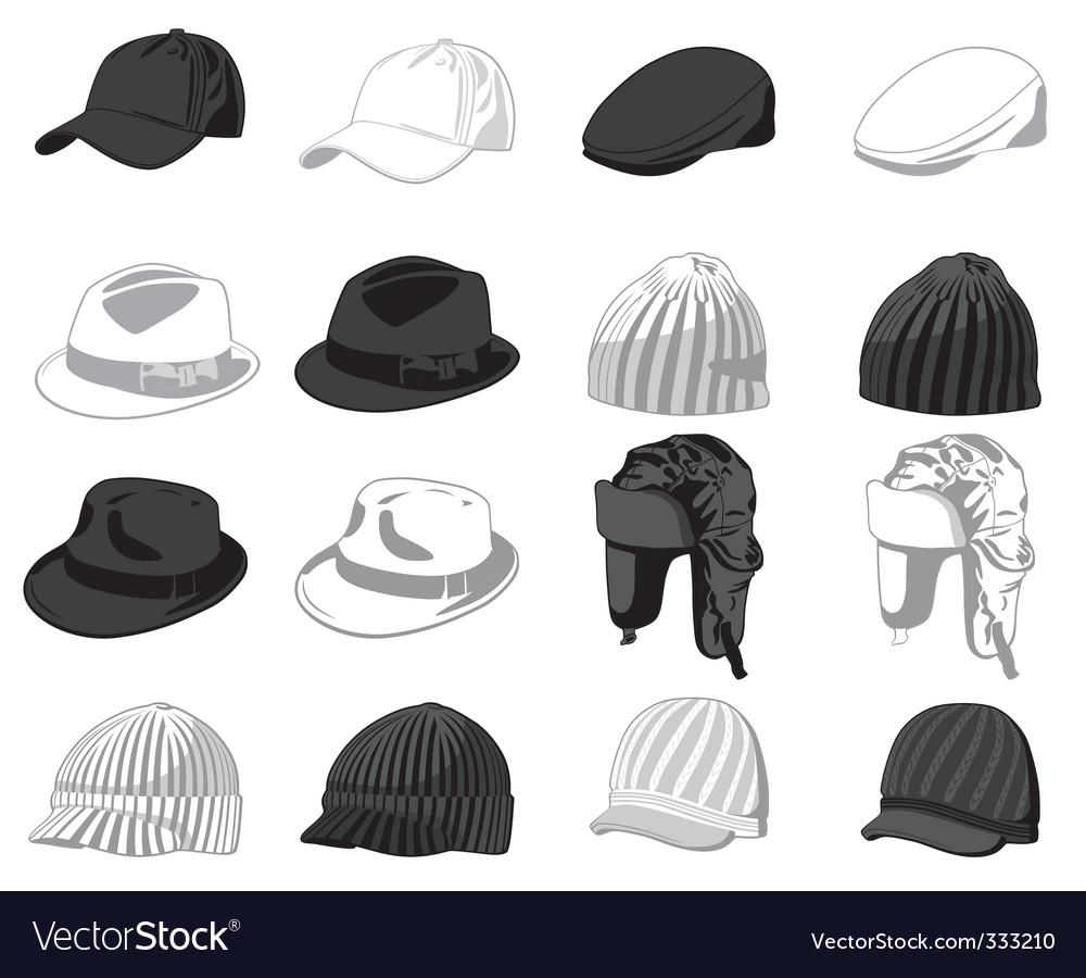 Caps vector image