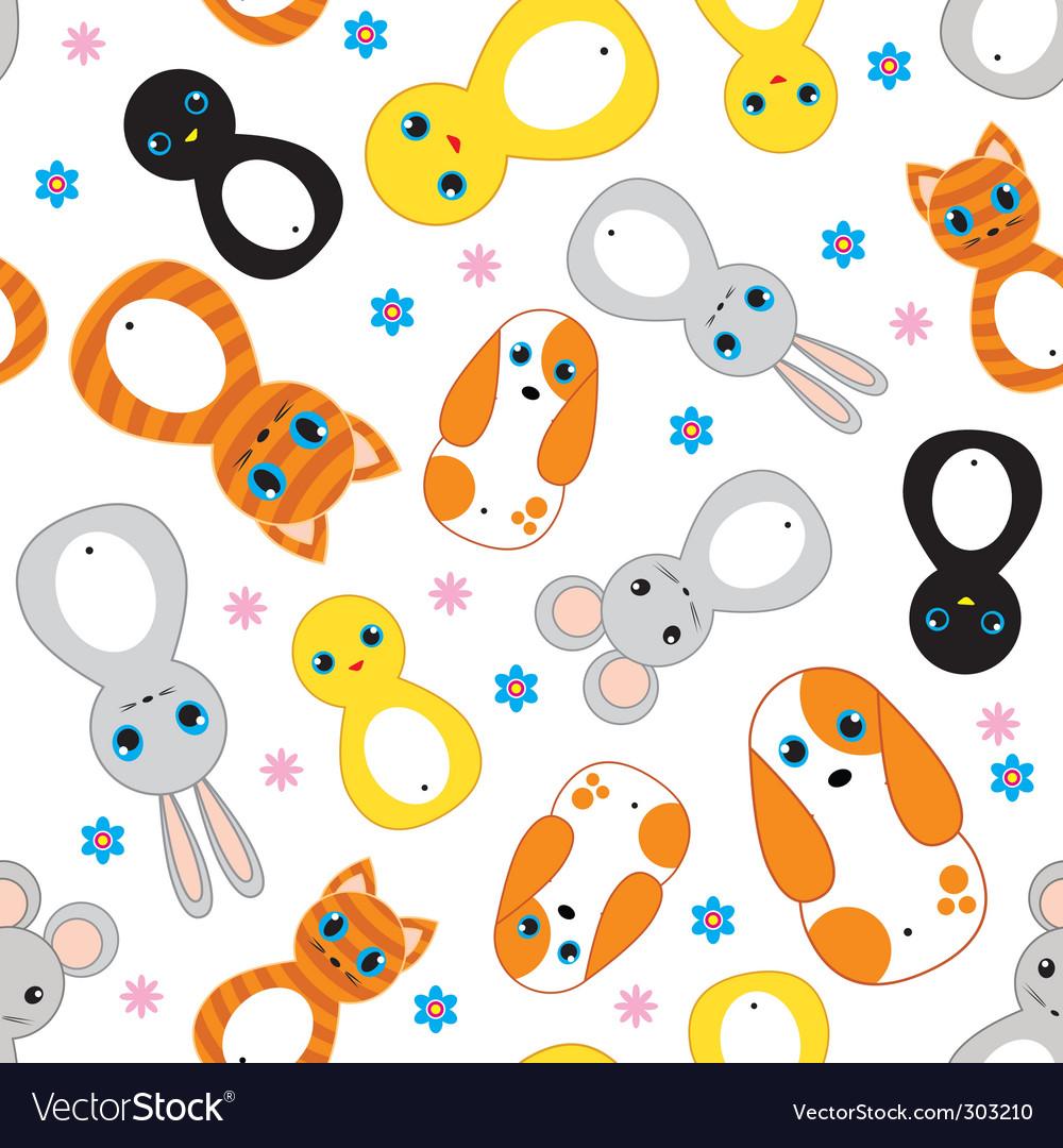 Nursery animals pattern