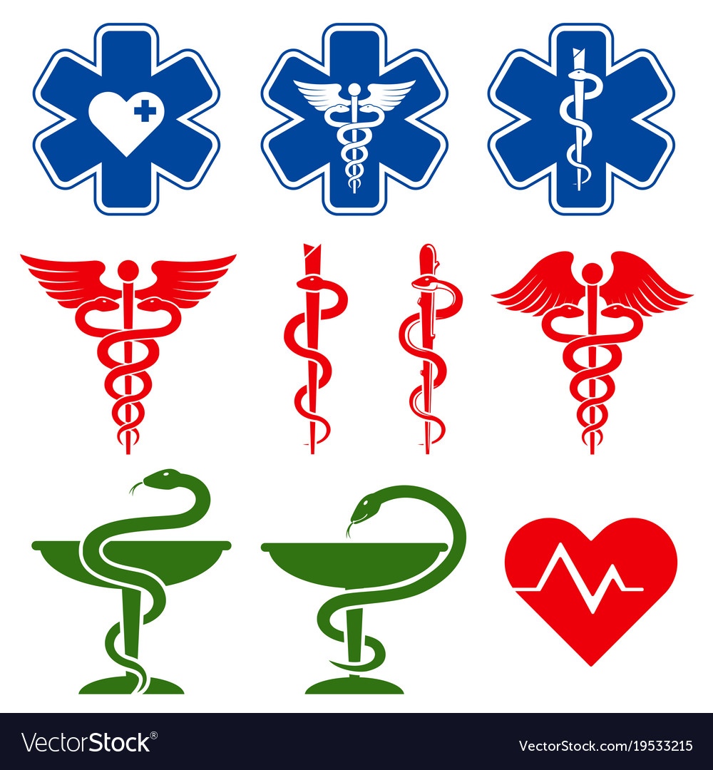 International medical pharmacy and emergency care vector image